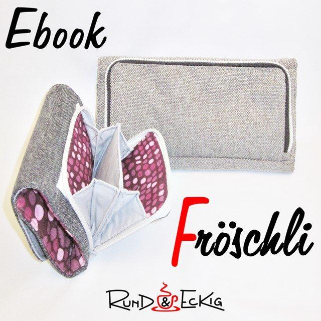 """Neues Ebook: Geldbörse """"Fröschli"""""""