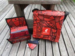 Taschen aus Kaffeepackung