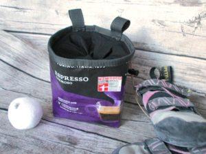 Chalkbag Kaffeepackung Rund und Eckig