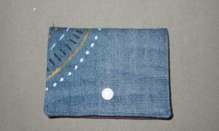 MidiWallet, Jeans und Stoffmalerei