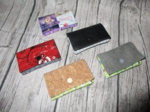 MiniWallet kleine Geldbörse Rund und Eckig