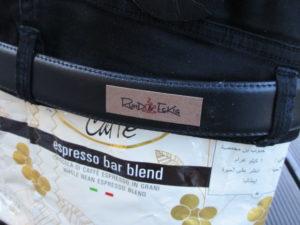 Jeans-Kaffee-Tasche Rund und Eckig
