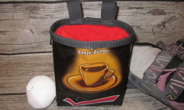Chalkbags aus Kaffeepackung