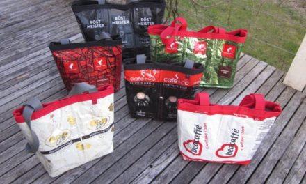 Kaffee-Handtaschen und -shopper