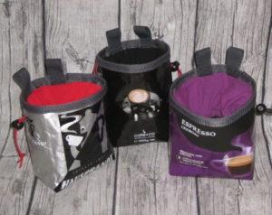 Chalkbag Kaffeepackung