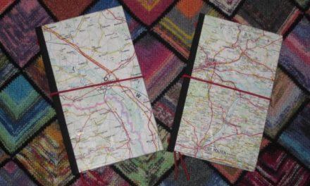 Straßenkarten-Notizbücher