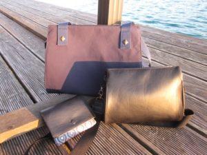 Taschen-Ebooks Astrid und Asta mit MidiWallet Rund und Eckig