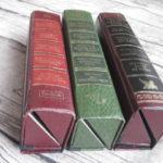 Brillenetuis aus alten Büchern
